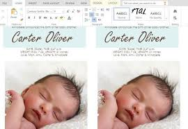 Birth Announcement Cards Template Free - April.onthemarch.co