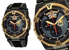 stuhrling prestige swiss chronograph watches