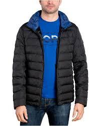 Michael Kors Mens Big Tall Down Blend Puffer Jacket Created For Macys