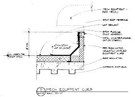 mech equipment curb