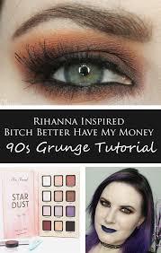 rihanna better have my money 90s grunge tutorial