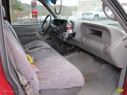 Truck 97 chevy truck seats : Gray Interior 1998 Chevrolet C/K 3500 K3500 Regular Cab 4x4 Dump ...
