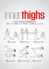 skinny legs thighs summer toning slimming routine