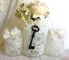 Mason Jar Decorations For Bridal Shower mason jar wedding bridal shower decor vintage style The Tres Chic 26