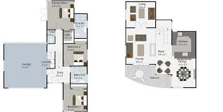 clutha 3 bedroom 2 y house plan landmark builders tauranga