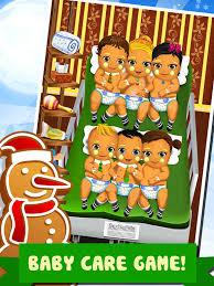 Little Christmas Babies Doctor Salon - Spa Cooking Food Kids Games ...