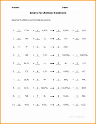 lovely worksheet balancing equations worddocx act answers new equation math cover balan medium size