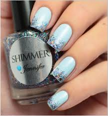 Trending Icy nails winter nail art