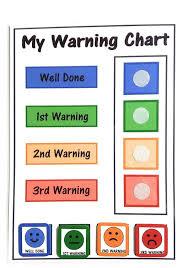 Happy Learners Childrens Traffic Light Faces Behaviour Reward Chart Warning Chart Children Toddlers Sen Autism Adhd