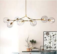 globe branching bubble chandelier modern light lighting lindsey adelman studio