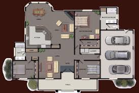 delightful color floor plans 3 modern style colored house plan 2d
