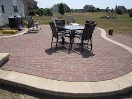 decoration pavers patio beauteous paver: brick  beautifulraisedpatiojpg brick