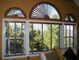 Sunburst Arches and Window Blinds