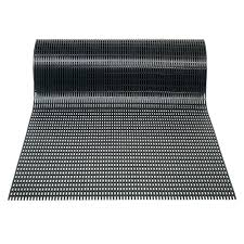 airpath black 2 ft x 30 ft pvc anti fatigue and safety