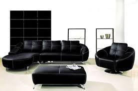 AE L218R B Black Chaise Sectional Sofa Collection American Eagle
