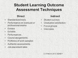 assessing students learning outcomes senia terzieva ppt video  student learning outcome assessment techniques
