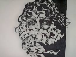 cool designs to draw with sharpie. Sharpie · Best Drawings Drawing Girl With Scarfgodlovesart On Deviantart Interior Design Cool Designs To Draw