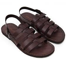 <b>Men's</b> Ciak <b>Gladiator sandals</b> in Brown - Sandalishop.it