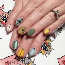 Nail Art Different Designs On Each Finger 30 Fall Nail Art Ideas For 2019 Fall Manicure Trends Allure