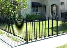 front yard fence. Metal Yard Fence Fencing For Front Wrought Iron Gallery Installation