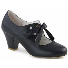 wiggle vintage style mary jane shoe in black at shoeoodles shoes for women men and
