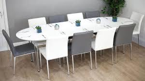 Seat Dining Table Sneakergreet Regarding Round Etendable At Boston ...