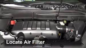 interior fuse box location 2007 2013 gmc acadia 2009 gmc acadia air filter how to 2007 2013 gmc acadia