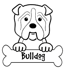 Small Picture Bulldog Puppy Coloring Pages Coloring Coloring Pages