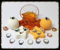 apricot honey jewelry bath by jewelry jar candles