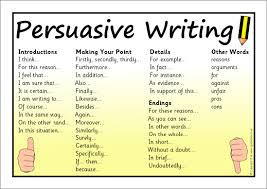persuasive writing every child is a seed waiting to sprout   resource persuasive words