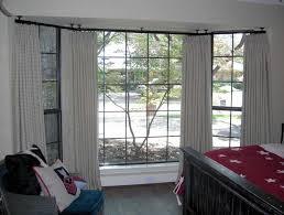 bay window curtain rod ceiling mount new ceiling mount curtain rods john robinson house decor