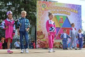 Впервые на фестивале «Рассказовская мозаика» <b>модели</b> ...
