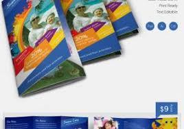 Free Editable Flyer Templates Free Editable Tri Fold Brochure Template Colorful Tri Fold Brochure