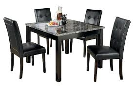 ashley furniture faux marble dining table. dining room furniture shown on a white background ashley faux marble table r