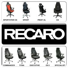 recaro bucket seat office chair. Full Line Of Recaro Office Furniture From Racechairs.com, Ergonomic, 24/7 Bucket Seat Chair I