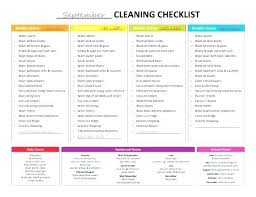 Daily Weekly Schedule Template New Printable Cleaning Schedule Template Free Weekly Schedules House