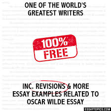 oscar wilde essay topics titles examples in english 100% papers on oscar wilde essay sample topics paragraph introduction help research more class 1 12 high school college