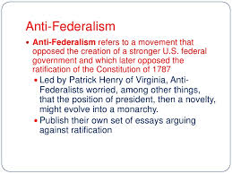 federalists vs antifederalists essay article how to write  federalist party