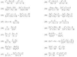 rational expressions multiplying and dividing rational expressions