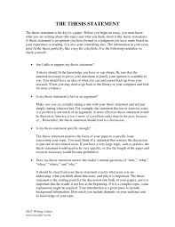 Thesis Statement Examples For Essays Thesis Statement Examples Or Research Paper Write Narrative