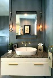 chandeliers powder room chandelier lighting ideas bathroom transitional with medicine cabin powder room chandelier