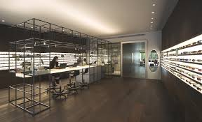 An optical store with modern design, Madrid