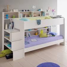 kids bunk bed. Parisot Kids White Bibop Bunk Bed With Reversible Panels - Avenue | Cuckooland I
