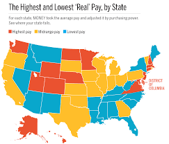 Average Income And Cost Of Living In Every State Money