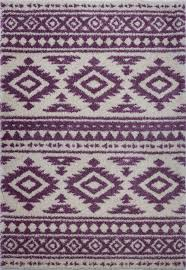 damask trellis ivory berry purple gy area rug