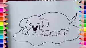 Hướng dẫn vẽ con chó và con mèo- Vẽ con mèo, con chó- Draw cat, dog -  YouTube