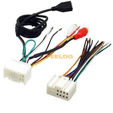 car audio cd stereo wiring harness adapter usb aux 2rca plug car audio cd stereo wiring harness adapter usb aux 2rca plug for kia k2 k5 sportage r factory oem radio cd dvd stereo in cables adapters sockets
