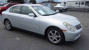 2003 Infiniti G35, Silver - STOCK# TR11021 - YouTube