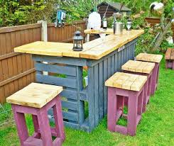 outdoor pallet table view in gallery pallet bar and stools pallet patio table ideas
