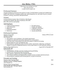 Healthcare Resume Template Simple Free Healthcare Resume Templates Combined With Free Healthcare